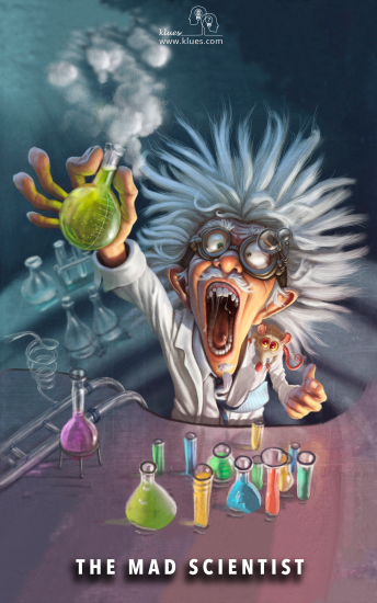 The Mad Scientist Klues Escape Room